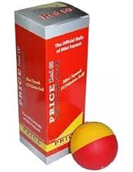 Precio Mini pelotas de Squash Fundation–112en cajas de 3–Rojo 60