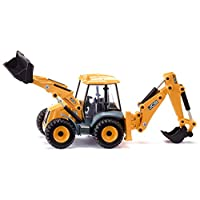 SIKU 3558 JCB 4CX Backhoe Loader Excavator - Colour May Vary from Picture