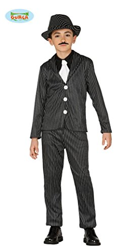 STER - Größe 142-148 cm ( 10-12 Jahre ), Amerika USA Chicago 20er 30er Jahre Mafia Al Capone KartelleFBI Prohibition (Al Capone Kostüm Kinder)