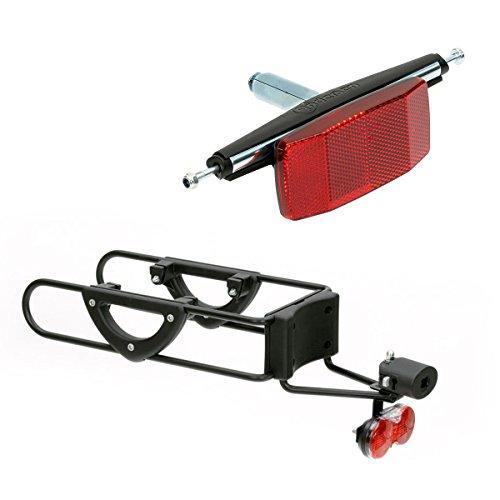 Andersen Einkaufstrolley Erweiterungsset für Fahrräder | PullEasy Anhängerkupplung für Fahrradgepäckträger | für Trolley Modelle Scala, Royal & Komfort