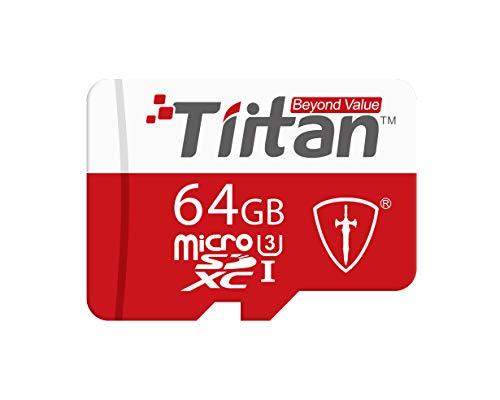 Tiitan Ultra 64GB MicroSDXC/UHS Class-3/ Speed Up to 300 MB/s Memory Card