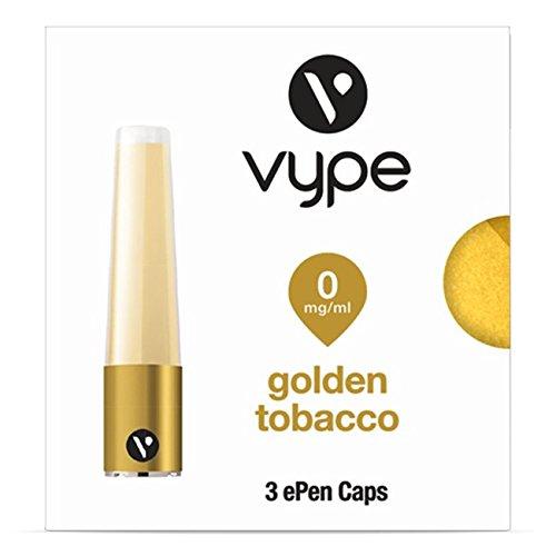 Vype ePen Caps Golden Tobacco 3er Pack | e-Liquid | ohne Nikotin