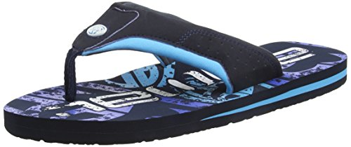 Animal Men's Jekyl Logo Flip Flops, Blue (Cyan Blue), 9 UK 43 EU