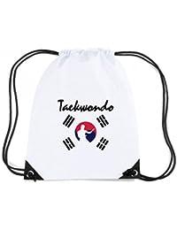 T-Shirtshock - Mochila Budget Gymsac TBOXE0002 Ash-taekwondo