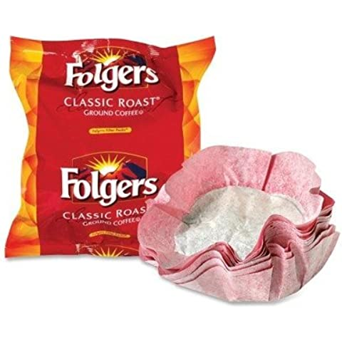 Folgers Filter Packs Coffee Filter Pack - Regular - 40 / Carton by Folgers - Folgers Coffee Filter Packs