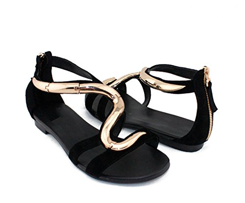 Minitoo - Sandali  donna Nero (nero)