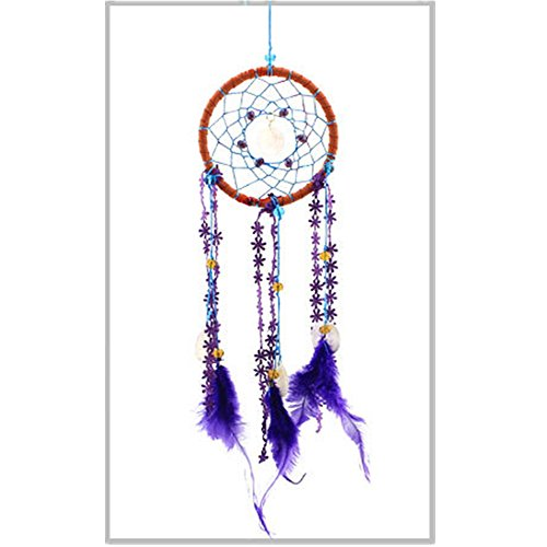 Dream Catcher.-bestcatgift Hochwertige handgefertigte Traumfänger. Bring You Good Luck., farbig, - Belly Button Dream Catcher