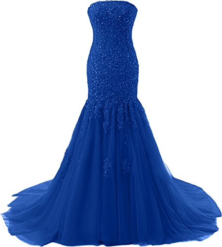 Missdressy - Robe - Sirène - Femme bleu roi
