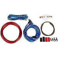 Mazur 1 Juego de Audio del automóvil Conectado Amplificador de cableado de Alambre de 8 amperios Subwoofer Kit de instalación de Altavoces Cable de alimentación 8GA Portafusibles