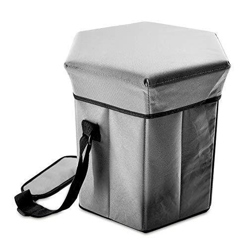 Eaxus®️ 2-in-1 Kühltasche ❄️ Groß 35x35x36cm 40L Isoliertasche Campingtasche Kühlbox Picknicktasche. Hält den Inhalt Kalt oder Warm