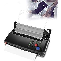 Machine d'imprimante de transfert de tatouage, copieur thermique de pochoir pour le kit de tatouage d'artiste portatif de papier d'A5 A4(EU)