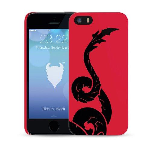 MediaDevil Grafikcase Apple iPhone 5 / 5S Hülle: Ultra Slim Edition - Blue Galaxy (Glänzend) Art of Sport: Cardiff
