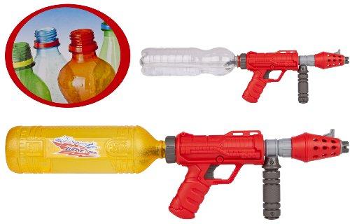 Preisvergleich Produktbild 1 x Wasserpistole Wave Thrower Wassergewehr mit PET Flasche als Tank