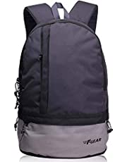 F Gear Burner GB 26 Ltrs Dark Grey Casual Laptop Backpack (2449)