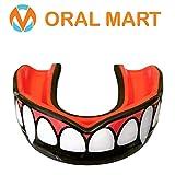 Oral Mart Protector bucal con Estuche ventilado para Karate, Boxeo, Combate, Taekwondo, Rugby...