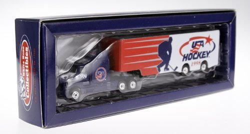 1998 Nagano Olympics Limited Edition Usa Hockey 1:80 Diecast Transporter