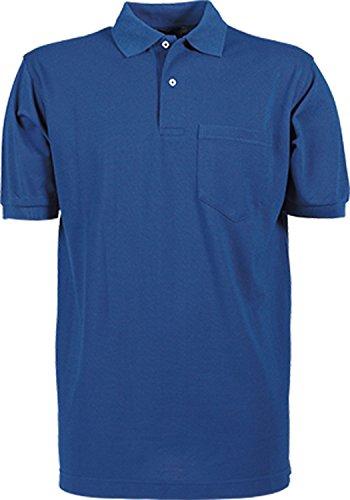 TJ2400 Pocket Polo Piqué, Farbe:Royal;Größen:5XL -