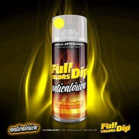 Hitzeschutzspray 700 ºC, unterschiedliche Farben gelb