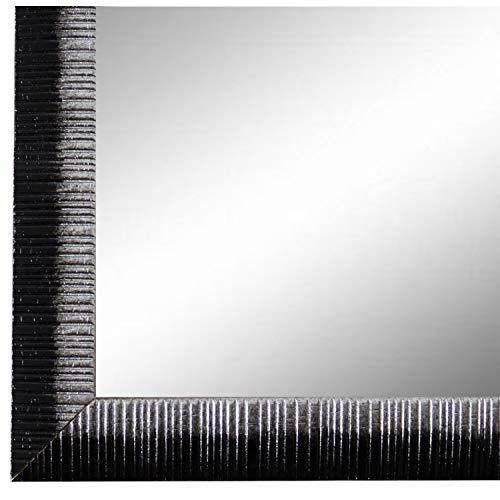 Online Galerie Bingold Spiegel Wandspiegel Schwarz Silber 40 x 60 cm - Modern, Vintage, Shabby - Alle Größen - Made in Germany - AM - Sorrento - Sorrento Fall