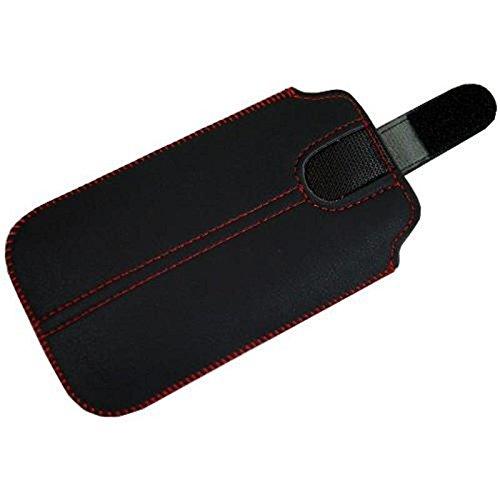 Tasche für Handy Smartphone Umi Emax Mini, Etui Hülle Slim Case Cover mit Auszugband