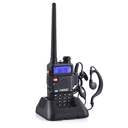 ESYNiC Walkie Talkie UV-5R Dual Band Baofeng 65 MHz~108MHz VHF/UHF Walky Talky...