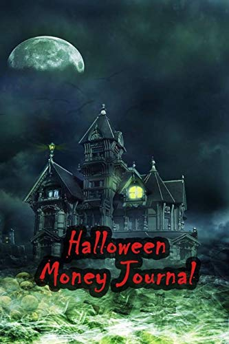 Halloween Money Journal: 52 Weeks Money Planner Notebook To Debt Out or Passive Income | Grim Reaper Cover Print