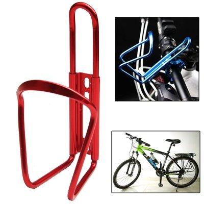 IEAST Fahrrad-Getränk Wasserflaschenhalter Bracket Rack-Cage Tragbare Trinkbecher Flaschenhalter Halter Flaschenträger Halter for Fahrradstand, Für Radfahren-Straßen-Fahrrad-MTB (Farbe : Red) -