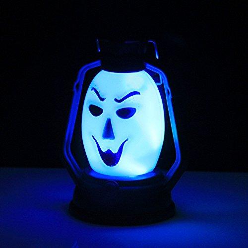 Scary Clown Kürbisse - Halloween-Schädel leuchten Lampen hängen Vintage Retro