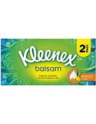 Kleenex Balsam Tissues - White, (2 in a pack)