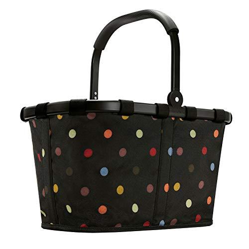 Reisenthel carrybag Frame Einkaufskorb 22 Liter schwarzer Rahmen - Black dots