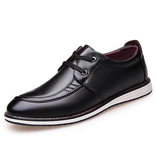Automne business casual chaussures tendance de la chaussure respirante/L'Angleterre chaussures/Coupe-bas dentelle Chaussures A
