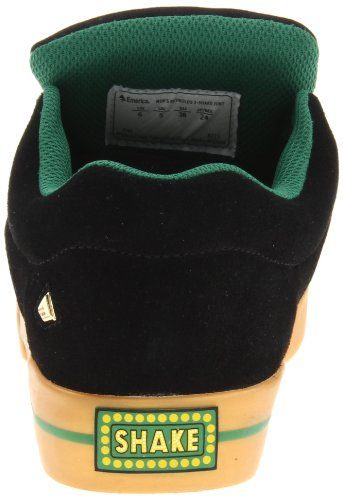 Emerica - Reynolds 3 Shake Junt, Sneaker Unisex - Adulto Nero (Black/Grey/Grey)