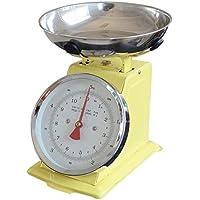 Cocina escala hornear comida escala mecánica cocina escamas 5 kg acero inoxidable retro cocina escalas con