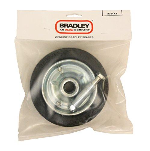 Bradley Ersatz-Stützrad - 175mm Rad für 43mm Jockeyradsatz 143 (Anhängerkupplung Dolly)