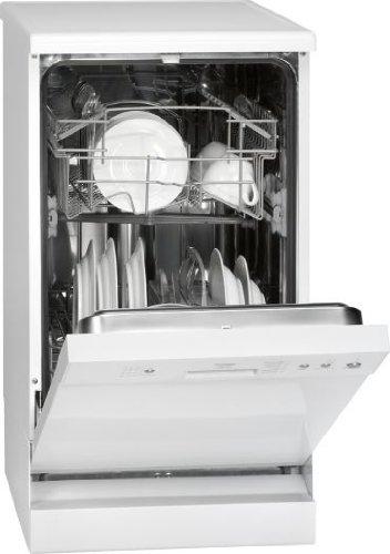 Bomann GSP 876 Freistehender Geschirrspüler / Unterbaufähig  / A+ AA / 10.5 L /  weiß / 44.5 cm