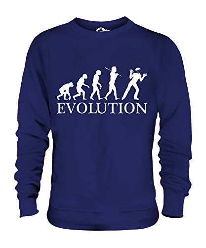 Candymix - Mime Evolution of Man - Unisex Sweatshirt Mens Ladies Sweater Jumper Top