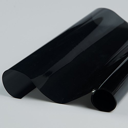 HOHO 49,8cm x9.8ft Hohe Isolierung Fenster Solar Tint Film 10% VLT Automotive privaten Glas - Getönte Fenster-folie