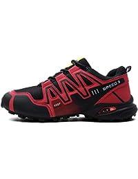 fb01f350e04 MERRYHE Los Hombres Antideslizantes Trainners Fshion Deportes Senderismo  Zapatos Escalada Camping Calzado Zapatos De Montaña Al