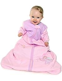 Slumbersac bebé dormir para todo el año de manga larga 2.5 Tog - Colour rosa diseño de hada - disponible en diferentes tallas de: de hasta 10 años nacimiento