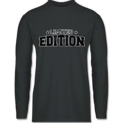 Statement Shirts - Limited Edition Vintage - Longsleeve / langärmeliges T-Shirt für Herren Anthrazit