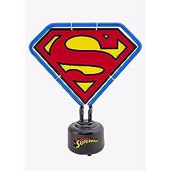 DC Comics Superman escudo PVC mesa neón producto oficial con licencia