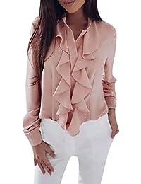 b4d300ef6b Amazon.it: sottogiacca - Bluse e camicie / T-shirt, top e bluse ...