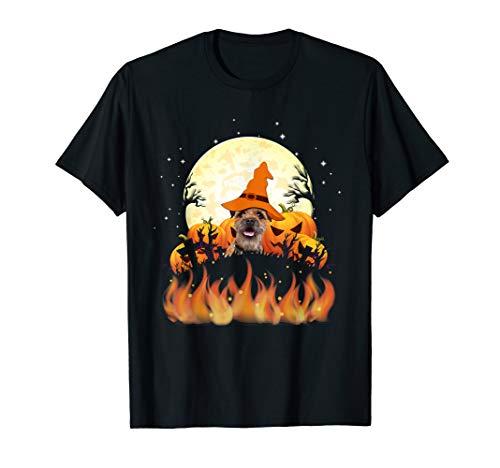 Border Terrier Kostüm - Border Terrier Tee Shirt Halloween 2019
