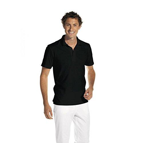 Leiber Polo-Shirt 1/2 Arm, 08/2515 Schwarz