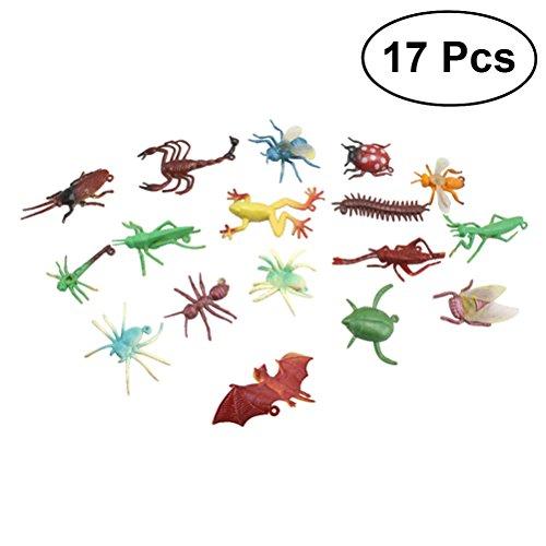 TOYMYTOY Insekten und Wanzen realistische Figuren Spielzeug 17pcs -