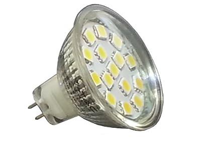 Mr16 Gu53 Led Strahler Spot Einbaulampe 12v 3w 15 Smd Leds Warmwei Lampe Glas von Akshopping