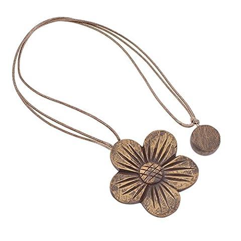 YNuth 1x Magnet Vorhang Raffhalter Blume Gravur Weiß Silber Aprikose Grau Braun Dekor