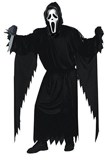 unt Komplett Super Set All Inclusive (Blutige Ghostface Kostüm)
