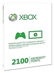 Xbox Live - Card 2100 Punti [Edizione: Regno Unito]