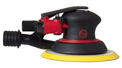 Chicago Pneumatic CP7255CVE 3/16-Inch Orbit, Hook and Loop Pad 6-Inch Random Orbital Palm Sander by Chicago Pneumatic